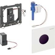 Geberit urinalstyring med elektronisk skyllestyring, netdrift, frontplade type 01