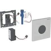 Geberit urinalstyring med elektronisk skyllestyring, netdrift, frontplade type 10
