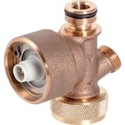 Capteur de débit volumique interne Geberit, pour rinçage forcé hygiénique dans le réservoir à encastrer, pour raccordement à l'eau froide