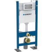 Bâti-support Geberit Duofix pour WC suspendu, 112 cm, avec réservoir à encastrer Delta 12 cm, autoportant