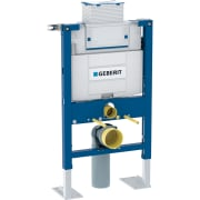 Bâti-support Geberit Duofix pour WC suspendu, 82 cm, avec réservoir à encastrer Omega 12 cm, autoportant