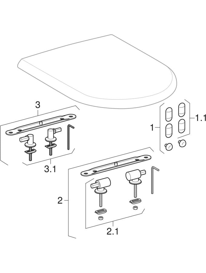WC sedišta (Geberit 4U)