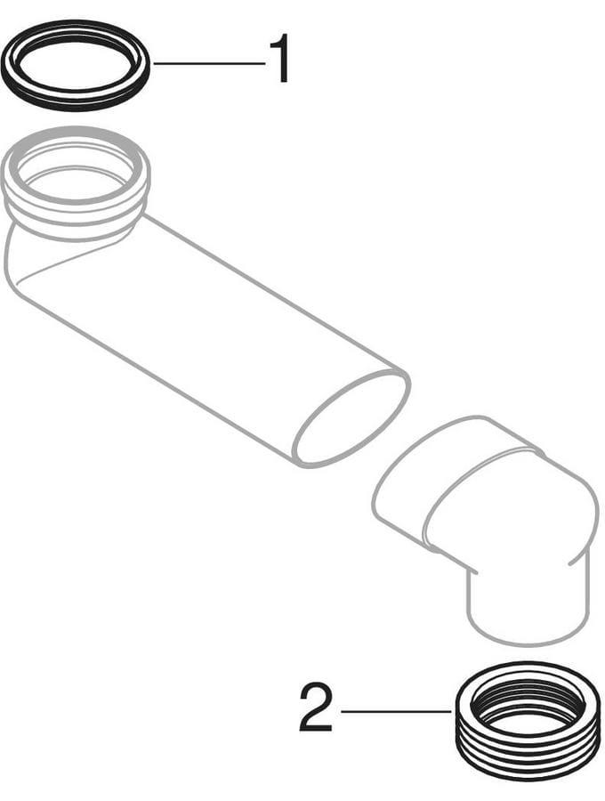 S-kolena od PVC-a