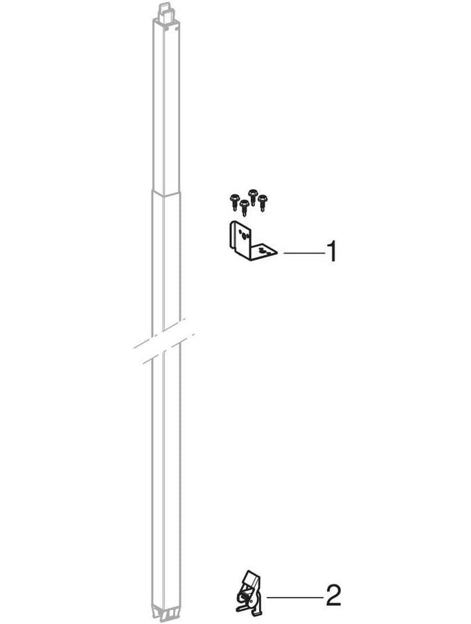 Geberit Duofix systeem staander